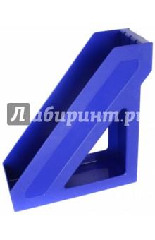 Лоток для бумаг вертикальный БАЗИС,  синий (ЛТ390)Лотки, накопители<br>Лоток для бумаг вертикальный.<br>Материал: пластик.<br>Сделано в России.<br>