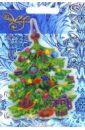 Украшение новогоднее оконное (42198)