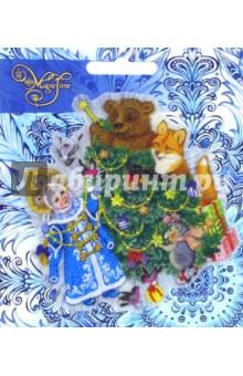 Украшение новогоднее оконное (42205) Феникс-Презент