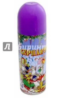Серпантин синтетический в спрее. Фиолетовый (42383) Феникс-Презент