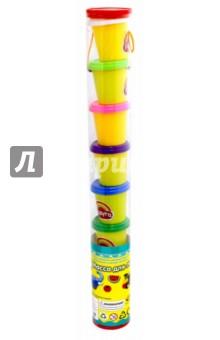 Набор массы для лепки (8 цветов, в тубе) (103541)Лепим из пасты<br>Набор массы для лепки.<br>С помощью предметов входящих в комплект, ребенок сможет создавать кулинарные шедевры различной сложности, развивая фантазию, воображение и мелкую моторику.<br>8 предметов.<br>Материал: пластмасса, полимерные материалы.<br>Не рекомендовано детям младше 3-х лет. Содержит мелкие детали. <br>Для детей от 3-х лет.<br>Сделано в Китае.<br>
