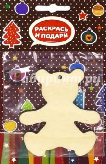 """Заготовка елочной игрушки """"Мишка"""" (Z4) Bumbaram"""