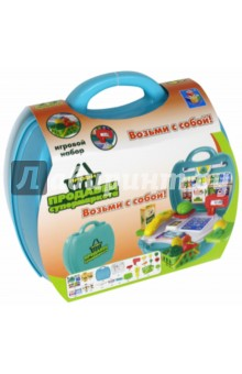 """Игровой набор в чемоданчике Профи """"Продавец супермаркета"""" (Т59008) 1TOY"""
