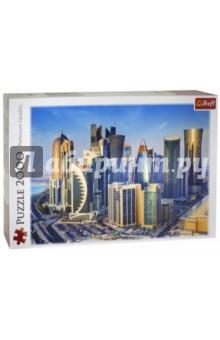 Trefl. Puzzle-2000 Доха, Катар (27084)Пазлы (2000 элементов и более)<br>Пазл-мозаика.<br>Количество элементов: 2000<br>Размер готовой картинки 96,1 х 68,2 см.<br>Материал: картон, бумага<br>Упаковка: картонная коробка.<br>Сделано в Польше.<br>