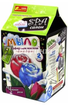 Мыло Чайная роза (15130012Р)Работаем с воском, гелем, мылом<br>2 мыла в 1 наборе! Мыловарение - это увлекательный процесс и прекрасное совместное творчество детей и взрослых. Мыло, приготовленное с помощью этих наборов, не только красивое, но и имеет прекрасный аромат натуральных эфирных масел!<br>В наборе: прозрачная мыльная основа, блистерные формы для мыла, элементы декора, эфирное масло иланг-иланга, растительное масло-основа, белый пигмент, пластиковая чайная ложка, пипетка, подробная инструкция.<br>Упаковка: картонная коробка.<br>Для детей от 9 лет.<br>Сделано в Украине.<br>