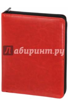 Органайзер на молнии. Красный-черный. 160 листов. А5+ (43145) Феникс+