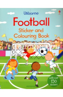 Football sticker and colouring bookЛитература на иностранном языке для детей<br>Children can colour and sticker their way through this football themed activity book. Featuring both girls and boys, children can decorate the teams football kits, sticker a defensive wall to guard a free kick and of course sticker the winning goal! Just in time for Euro 2016, children create their own Cristiano Ronaldo or Stephanie Houghton and create their own football match. This is a fun-packed activity book children can enjoy after watching their team on television.<br>