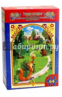 Пазл-64 макси Колобок (1089)Пазлы (54-90 элементов)<br>Макси-пазл.<br>Пазл состоит из 64 элементов.<br>Размер готовой картинки 21,5х30 см.<br>Изготовлено из бумаги и картона, предназначено для игры внутри помещений.<br>Для игры детей 3-7 лет.<br>Не рекомендуется детям младше 3-х лет. Содержит мелкие детали.<br>Сделано в России.<br>