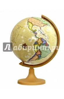 Глобус политический античный (d=320 мм) (ZM320pA)Глобусы<br>Глобус политический античный.<br>Диаметр - 320 мм.<br>На пластиковой подставке.<br>Сделано в Польше.<br>