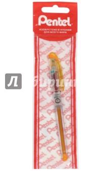 Ручка гелевая игловидная, оранжевая, 0.7 мм (PBG207-A)Ручки гелевые простые цветные<br>Ручка гелевая игловидная.<br>Цвет чернил: оранжевый.<br>Пластиковые корпус.<br>Толщина стержня 0,7 мм.<br>Упаковка: пакет с подвесом.<br>Сделано в Японии.<br>