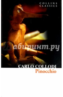 PinocchioЛитература на иностранном языке для детей<br>But I am not like other boys! I always tell the truth.<br>The story of Pinocchio has remained one of the best-loved children s tales for over a century. However, the original 1883 novel about the adventures of the mischievous marionette on his quest to become a real boy began as a sophisticated story for both adults and children, and includes political satire, slapstick humour and questions about the role of tradition and society. From the moment Geppetto decides to carve himself a son from a magical piece of wood, the tale lurches from one fantastical episode to another, in one of the most enchanting fables of all time.<br>