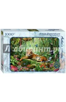 "Step Puzzle-1000 ""Тигр в джунглях"" (79528) Степ Пазл"