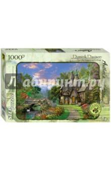 """Step Puzzle-1000 """"Коттедж у старого моста"""" (79532) Степ Пазл"""