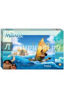 Step Puzzle-560  560 Моана (97045)Пазлы (400-600 элементов)<br>Пазл Моана создан по мотивам мультфильма Моана (Disney).<br>История рассказывает о храброй девушке Моане Ваялики, которая вместе с полубогом Мауи отправляется в опасное приключение по океану в поисках своей семьи.<br>Размер собранного изображения - 50х34,5 см.<br>Количество деталей: 560. <br>Материал: картон.<br>Не рекомендовано детям младше 3-х лет. Содержит мелкие детали.  <br>Для детей от 7-ми лет. <br>Сделано в России.<br>