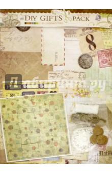 Набор для творчества ВРЕМЯ КОФЕ (040-SB)Другие виды творчества<br>Декорируйте, украшайте, творите! Представляем вашему вниманию прекрасные наборы для творчества в стиле скрапбукинг. Эти наборы выполнены в разной цветовой гамме и прекрасно подойдут для оформления подарков, тетрадей, фотографий, альбомов, записных книжек и даже декоративных бутылочек. В наборы входит скрапбумага, наклейки с вырубкой, пазл, стразы и полубусины, вязанные мини-салфетки, пробковые пуговицы, булавки, тесьма, веревка и металлическая декоративная фигурка. Комплектация: - Скрапбумага 21х28,5 см - 4 листа. - Лист с наклейками 10х15 см - 2 шт. - Пазл из картона 12х12 см - 1 шт. - Мини-салфетка, вязанная - 4 шт. - Пуговицы пробковые - 5 шт. - Стразы, полубусины - 1 пакет. - Тесьма 30 см - 1 шт. - Веревка 50 см - 1шт. - Булавки - 4 шт. - Металлическая декоративная фигурка - 1 шт. <br>Упаковка: пакет с подвесом.<br>Сделано в Китае.<br>