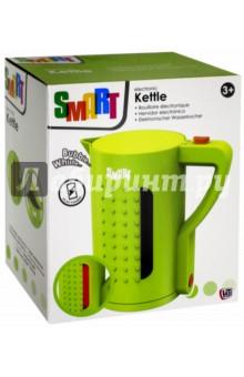 Чайник Smart (1684016.00)Бытовая техника<br>Игрушечный чайничек Smart - это стоящее приобретение для любой детской кухни. При включении чайника загорается подсветка, раздается характерный звук закипающей воды. К тому же в чайник можно действительно налить воды, это абсолютно безопасно! С чайником Smart девочка сможет приготовить для своих кукол игрушечный чай, и процесс будет выглядеть очень реалистично, оставаясь при этом безопасным. Вода в игрушке не нагревается.<br>Работает от 2 батареек типа 1,5V AAА/LR03 (в комплект не входят).<br>Материал6 пластмасса с элементами из металла.<br>Упаковка: картонная коробка.<br>Для детей от 3 лет.<br>Сделано в Китае.<br>