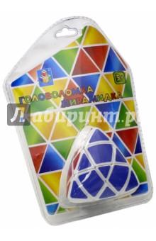 Головоломка пирамидка 7 см (Т57363)Головоломки<br>Головоломка Пирамидка представляет собой пластиковую основу. Три стороны игрушки имеют разныецвета: желтый, красный и зеленый. Каждая грань пирамидки поделена на несколько секторов.Сектора вращаются вокруг своей оси. Суть игры знакома каждому: для того, чтобы начать игру,необходимо перемешать разноцветные сектора. Задача игрока состоит в том, чтобы собратьпирамидку в первоначальное состояние. Все стороны должны быть одного цвета.<br>Материал: пластмасса.<br>Упаковка: блистер.<br>Для детей от 5 лет.<br>Сделано в Китае.<br>
