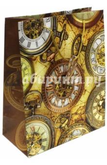 """Пакет бумажный """"Хронографы"""" (26х32,4х12,7) (44219) Феникс-Презент"""