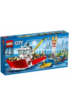 """Конструктор City """"Пожарный катер"""" (60109)"""