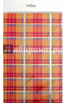 Картон цветной поделочный Шотландка (4 листа) (С4284-01)Картон цветной<br>Картон поделочный с тиснением Шотландка.<br>4 листа.<br>Сделано в России.<br>