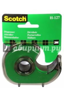 Диспенсер для клейкой ленты (19мм х33м, дымчатый) (225935)