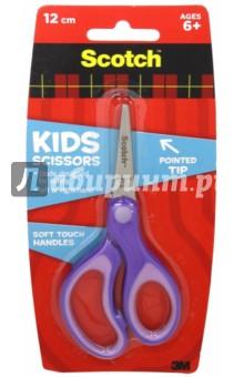 Ножницы 120 мм (закругленные, детские, эргономичные) (236286)Ножницы школьные<br>Ножницы детские.<br>Длина: 12 см.<br>Закругленные, эргономичные.<br>Сделано в Китае.<br>