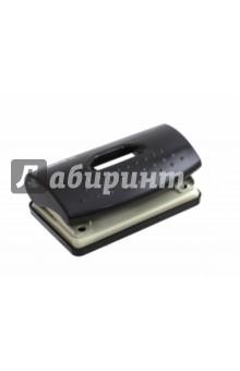 Дырокол Primer пластиковый, 10 листов, черный (391033-01)Дыроколы<br>Дырокол.<br>Предназначен для перфорации бумаги и картона.<br>пластиковый корпус.<br>С форматной линейкой.<br>Перфорация до 10 листов.<br>Диаметр отверстий - 6 мм.<br>Расстояние между отверстиями - 80 мм<br>Цвет: черный.<br>Состав: ABS пластик, сталь. <br>Сделано в Китае.<br>
