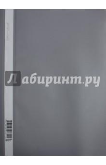 """Папка-скоросшиватель """"Classic"""" (пластик, А4, серая) (255116-11) Silwerhof"""