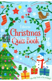 Christmas Quiz BookЛитература на иностранном языке для детей<br>A pocket-sized quiz book with over 250 questions to challenge all the family at Christmas, including  When was the first Christmas card made?  and  What type of creature are Santa s little helpers? . With multiple choice, true or false and odd-one-out questions, this is a brilliant activity for Christmas parties or for playing with friends.<br>