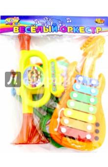 Набор музыкальных инструментов (5 шт) (D-00046)Музыкальные инструменты<br>Музыкальные инструменты. <br>Изготовлено из пластмассы<br>Количество элементов: 5. <br>Не рекомендовано детям младше 3-х лет. Содержит мелкие детали.<br>Для детей от 3-х лет под присмотром взрослых.<br>Сделано в Китае.<br>