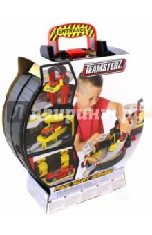 Двухуровневый гараж в чемоданчике (1415994.V15) Halsall Toys International
