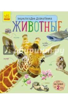 ЖивотныеЖивотный и растительный мир<br>Вы думаете, вашему сыну или дочурке еще рано знакомиться с энциклопедиями?<br>Если малышу исполнилось 2 года - самое время! Рассматривайте вместе<br>картинки, читайте тексты и узнавайте, знакомьтесь с большими кошками, ловкими обезьянами, умными слонами, трудолюбивыми насекомыми и другими животными.<br>Книга поможет маленькому любознайке получить общее представление о домашних и диких животных, выучить новые слова, узнать много интересного о мире природы.<br>Для дошкольного возраста.<br>