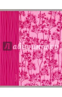 """Тетрадь """"Цветочные силуэты"""" (48 листов, 5 видов) (ТКЛ485355) Эксмо-Канц"""