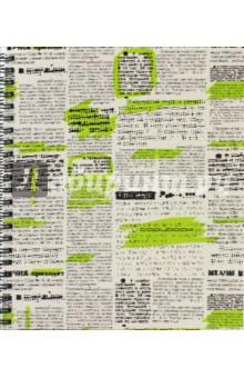 """Тетрадь """"Газетные заметки"""" (96 листов, гребень, 5 видов) (ТС2Л965220) Эксмо-Канц"""