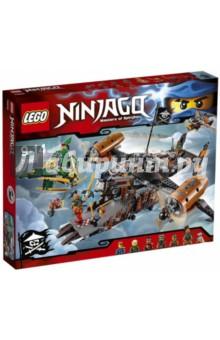 Конструктор LEGO Ninjago. Цитадель несчастий (70605)Конструкторы из пластмассы и мягкого пластика<br>Набор серии Lego Ninjago Цитадель несчастий станет отличным подарком для любого ребенка.<br>Собранные модели из Серии Ninjago сочетают в себе высокую функциональность и долговечность.<br>Её безграничный вымышленный мир, в котором ниндзя борются против сил зла, не оставит равнодушными ни детей, ни взрослых.<br>Важнейшая небесная схватка уже началась! Злодеи оснастили свой транспорт мощными регулируемыми винтами, пушками, дисковыми шутерами и просторным лаунчпадом.<br>У Ллойда есть реактивный флаер, чтобы можно было в любой момент запустить Джея для захвата золотого Меча Джинна, принадлежащего Сэнсэю Ву!<br>Набор включает в себя шесть минифигурок: Ниндзя Молнии Джея, Зелёного Ниндзя Ллойда, Ниндзя Огня Кая, Надакхана, Небесных Пиратов Бако и Флинтлока, а также Обезьяну Вретча.<br>Материал: пластик.<br>Не рекомендовано детям младше 3-х лет. Содержит мелкие детали. <br>Детям от 9 лет до 14 лет.<br>Сделано в Дании.<br>
