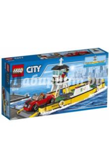 Конструктор LEGO City. Паром (60119)Конструкторы из пластмассы и мягкого пластика<br>Готовься провести еще один захватывающий день в LEGO® City! Садись в автомобиль и направляйся в порт. Опусти ворота и заезжай на паром, а затем помоги капитану отплыть от причала. Позвони и запланируй следующую деловую встречу, пока паром подплывает к пристани, а затем съезжай на берег и снова отправляйся в путь!<br>Материал: пластмасса.<br>Не рекомендовано детям младше 3-х лет. Содержит мелкие детали.<br>Детям от 6 до 12 лет.<br>