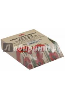 """Блок для заметок, 300 листов, 90х110 мм, проклеенный """"Red on White"""" (LN9к_10641) Хатбер"""