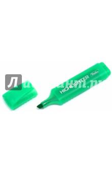 Текстовыделитель флуоресцентный, зеленый (BT_00504) Хатбер
