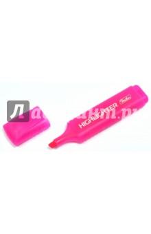 Текстовыделитель флуоресцентный, розовый (BT_00512) Хатбер