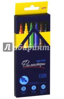 """Фломастеры """"Premium"""" (6 цветов) (BFk_06840) Хатбер"""
