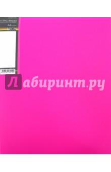 Папка на 4 кольцах, пластиковая NEON 4-RING BINDER, розовая (4AB4_02033)Папки на кольцах<br>Папка на 4 кольцах.<br>Толщина корешка 25 мм.<br>Формат А4.<br>Материал: пластик.<br>Упаковка: пакет.<br>Сделано в России.<br>