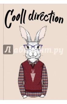 Cooll direction (Блокнот для хипстеров)Блокноты большие Линейка<br>Яркие хипстерские блокноты: на обложках модные образы животных в стильной одежде.<br>