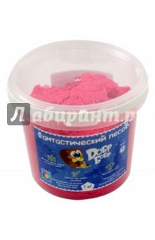 Песок ДобрБобр, розовый. 1 кг. (Т10263)Лепим из пасты<br>Игрушка Фантастический песок торговой марки ДобрБобр. <br>Состав: очищенный и подготовленный кварцевый песок, антибактериальная полимерная матрица, краситель.<br>Масса нетто: 1 кг.<br>Упаковка: пластиковое ведро.<br>Для детей от трех лет. <br>Сделано в России.<br>