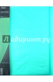 """Папка пластиковая """"DIAMOND зеленая"""" (30 вкладышей, А4, корешок 17 мм) (30AV4_02007) Хатбер"""