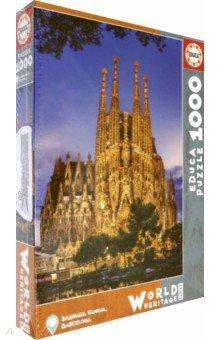 Пазл-1000 Саграда Фамилия (17097)Пазлы (1000 элементов)<br>Пазл-мозаика.<br>1000 деталей.<br>Размер собранной картинки: 48 х 68 см.<br>Материал: картон.<br>Упаковка: картонная коробка.<br>Сделано в Испании.<br>