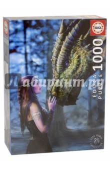 Пазл-1000 Девушка и дракон (17099)Пазлы (1000 элементов)<br>Пазл-мозаика.<br>1000 деталей.<br>Размер собранной картинки: 48 х 68 см.<br>Материал: картон.<br>Упаковка: картонная коробка.<br>Сделано в Испании.<br>
