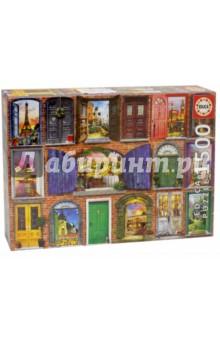 Пазл-1500 Двери Европы (17118)Пазлы (1500 элементов)<br>Пазл-мозаика.<br>1500 деталей.<br>Размер собранной картинки: 85 х 60 см.<br>Материал: картон.<br>Упаковка: картонная коробка.<br>Сделано в Испании.<br>