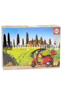 Пазл-1500 Скутер в Тоскане (17121)Пазлы (1500 элементов)<br>Пазл-мозаика.<br>1500 деталей.<br>Размер собранной картинки: 85 х 60 см.<br>Материал: картон.<br>Упаковка: картонная коробка.<br>Сделано в Испании.<br>