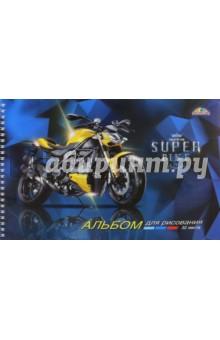 """Альбом для рисования """"Супербайк"""" (32 листа, А4) (С0680-32) АппликА"""