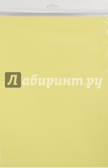 Бумага цветная тонированный (10 листов, желтая) (С3036-02) Креатив-Лэнд